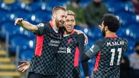 Liverpool đã tăng tốc tốt ngay vào thời điểm hệ trọng nhất. Ảnh: Getty Images