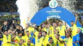 Tuyển Brazil đã có thể bắt đầu hành trình bảo vệ danh hiệu.