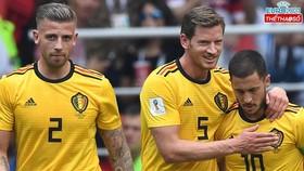 Toby Alderweireld, Jan Vertonghen và Eden Hazard là 3 trong số 4 cầu thủ có hơn 100 lần khoác áo tuyển Bỉ.