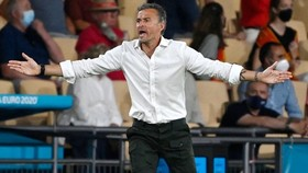 HLV Luis Enrique khẳng định năng lực ghi bàn là điều duy nhất cần cải thiện. Ảnh: Getty Images