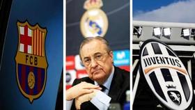 Juventus, Barcelona và Real Madrid vẫn tham dự Champions League mùa tới.