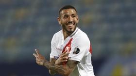 Sergio Pena đã mở tỷ số cho Peru ở phút thứ 17.