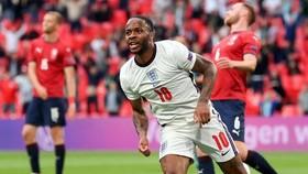 Raheem Sterling ghi bàn thắng duy nhất giúp tuyển Anh. Ảnh: Getty Images