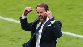 HLV Gareth Southgate sau niềm phấn kích là cảm giác thận trọng. Ảnh: Getty Images