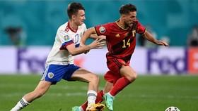 """Dries Mertens (phải) tự tin vào cơ hội thành công của """"thế hệ vàng"""" tuyển Bỉ. Ảnh: Getty Images"""
