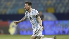 Lionel Messi cho thấy rõ khát khao giúp Argentina thắng danh hiệu.