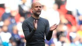 HLV Pep Guardiola vẫn rất tin tưởng vào chất lượng mà Man.City đang có. Ảnh: Getty Images
