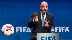 """Chủ tịch FIFA, Gianni Infantino khẳng định sẽ làm sạch khoản """"tiền bẩn"""" này."""