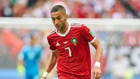"""Hakim Ziyech bị loại khỏi đội tuyển Morocco vì """"hành vi kém""""."""
