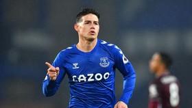 Trải nghiệm của James Rodriguez tại Premier League đã sớm kết thúc.