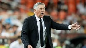 HLV Carlo Ancelotti tỏ rõ thất vọng trước màn trình diễn của Real.
