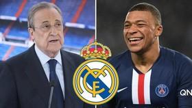 Chủ tịch Real Madrid, Florentino Perez lạc quan sẽ có Kylian Mbappe vào tháng Giêng.