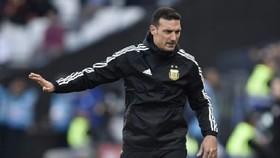 HLV Lionel Scaloni của tuyển Argentina.