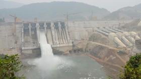 Nhà máy Thủy điện Trung Sơn tại xã Trung Sơn, huyện Quan Hóa, tỉnh Thanh Hóa