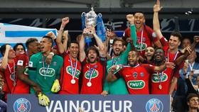 Đánh bại Angers, PSG có lần thứ 3 liên tiếp vô địch Cúp Quốc gia Pháp.