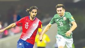 Mexico (phải) đang có thành tích tốt trong các trận đấu giao hữu dưới triều đại HLV Osorio.