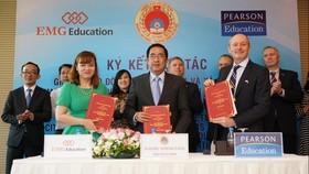 Pearson Education ủy quyền cho EMG tổ chức khảo thí các chứng chỉ tiếng Anh