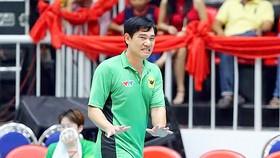 HLV Nguyễn Quốc Vũ nhận nhiệm vụ  dẫn dắt đội tuyển nữ Việt Nam      Ảnh: HÀ HƯNG
