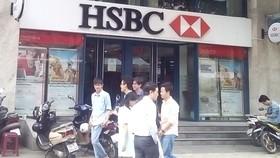 Phòng giao dịch Cộng Hòa - Ngân hàng HSBC, nơi xảy ra vụ án