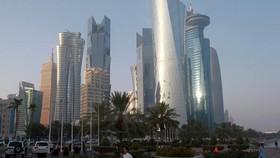 Thủ đô Doha, Qatar. Ảnh: REUTERS