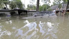 Harvey - cơn bão đổ bộ vùng đông nam bang Texas hôm 25-8, đã cướp đi sinh mạng của 60 người, phá hủy khoảng 200.000 ngôi nhà. Ảnh: AP.
