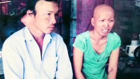 Vợ chồng ung thư nuôi 3 con nhỏ cầu cứu