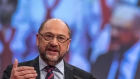 Lãnh đạo đảng Dân chủ Xã hội Đức (SPD) Martin Schulz. Ảnh: Nguồn: GETTY IMAGES