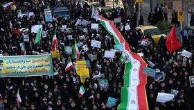 Tuần hành ủng hộ Chính phủ tại thành phố Qom