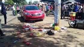 Hiện trường nữ tài xế gây ra vụ tai nạn khiến 3 người thương vong