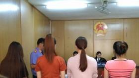 Đại diện VKS luận tội bốn bị cáo tại phiên xử