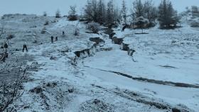 Sự cố vỡ bờ moong chứa nước để khai thác titan của Công ty TNHH Tân Quang Cường gây thiệt hại nặng nề cho người dân