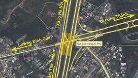 Hơn 1.000 tỷ đồng giải quyết kẹt xe tại nút giao An Phú