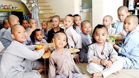 Nét hồn nhiên, vô tư của những đứa trẻ ở mái ấm Bình An