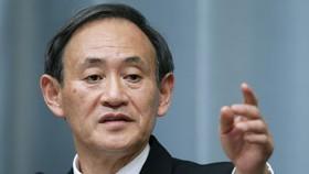 Chánh Văn phòng Nội các Nhật Bản Yoshihide Suga. Ảnh: BLOOMBERG.COM