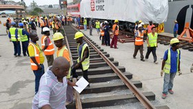 Dự án đường sắt do Trung Quốc thực hiện tại Kenya
