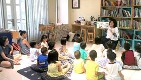 Một buổi đọc sách cho trẻ em tại Đủng Đỉnh Đọc