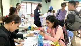 Thị trường lao động TPHCM sôi động ngay sau Tết 2019