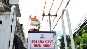 """Doanh nghiệp sản xuất thiệt hại vì """"chớp điện"""""""