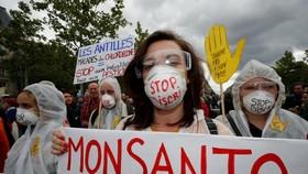 Người biểu tình ở thủ đô Paris của Pháp ngày 18-5. Ảnh: REUTERS