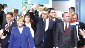 Thủ tướng Merkel trong chuyến thăm Croatia