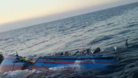 Tàu cá bị tàu hàng đâm chìm