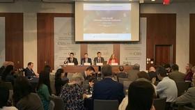 Hội thảo Biển Đông thường niên lần thứ 9 tại CSIS thu hút sự tham gia của nhiều chuyên gia và học giả quốc tế. Ảnh: TTXVN