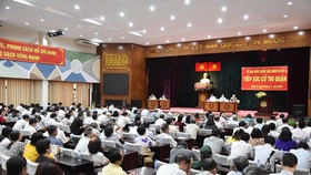 Tiếp nhận ý kiến của nhân dân để phát triển TPHCM