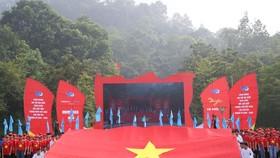 """Các đại biểu tham gia lễ chào cờ đặc biệt """"Tôi yêu Tổ quốc tôi"""""""