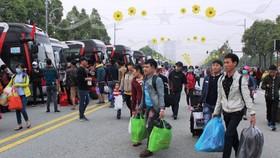 Tặng công nhân 35.500 vé tàu xe, máy bay về quê đón tết