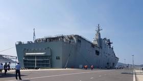 Tàu Hải quân Ấn Độ  thăm hữu nghị Đà Nẵng