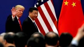 Tổng thống Mỹ Donald Trump và Chủ tịch Trung Quốc Tập Cận Bình. Ảnh: REUTERS
