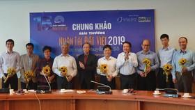 Lễ trao giải Nhân tài Đất Việt 2019. Ảnh: TTXVN