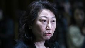 Cục trưởng Tư pháp Hồng Công Teresa Cheng. Ảnh: SCMP