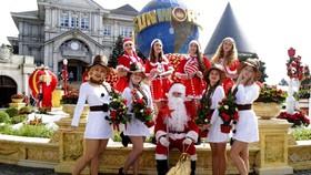 Lễ hội mùa đông tại khu du lịch Sun World Ba Na Hills mở ra một hành trình khám phá châu Âu đầy hấp dẫn